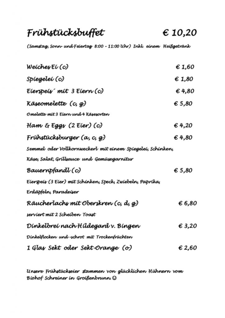 thumbnail of Frühstückskarte 05.01.19
